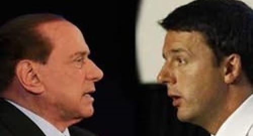 Berlusconi all'attacco contro chi lo fece dimettere, e intanto fa gli auguri a Renzi